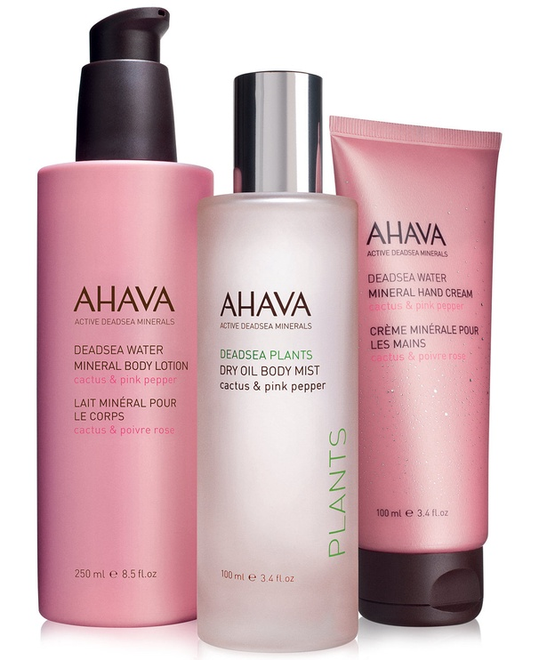 AHAVA Deadsea Water Mineral Hand Cream Cactus & Pink Pepper 100ml