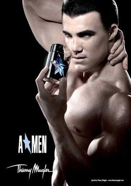 Набор для мужчин Thierry Mugler A*men Rubber 100 ml EDT Refillable + 50 ml Shower Gel