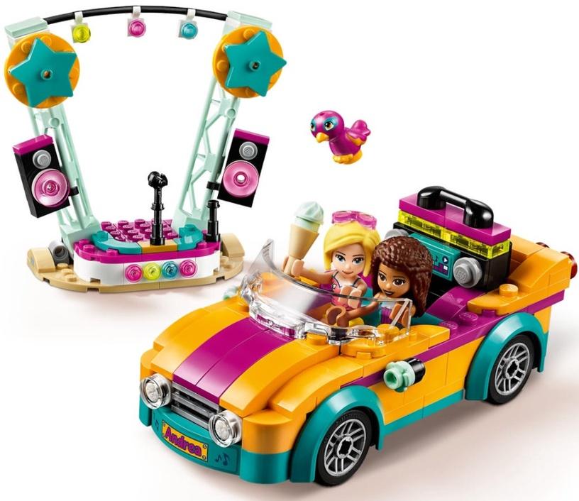 Конструктор LEGO® Friends 41390 Машина со сценой Андреа