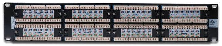 Digitus 19'' CAT5e Patch Panel 48-Port UTP DN-91548U