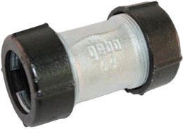 """Gebo Pipe Connector Cast Iron 1/2"""""""