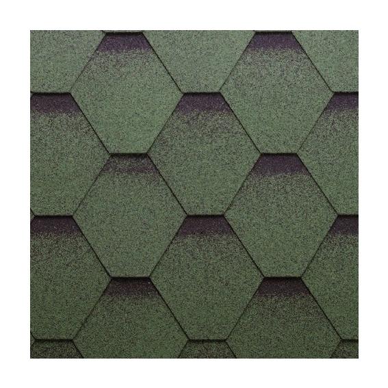 Покрытие Technonicol Bitum Shingles Sonata Kadril Plus Green