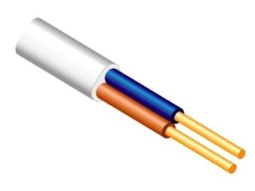 Elektros instaliacijos kabelis Lietkabelis BVV-P, 2 x 4 mm²