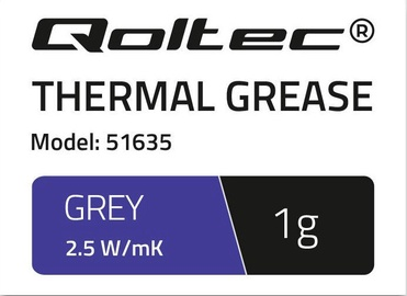 Qoltec Thermal Grease 2.5 W/m-K 1g