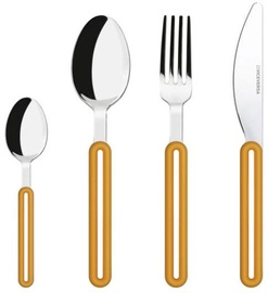 ViceVersa Offset Cutlery Set 24 Orange