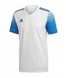 Футболка с короткими рукавами Adidas Regista 20 Jersey White/Blue XL