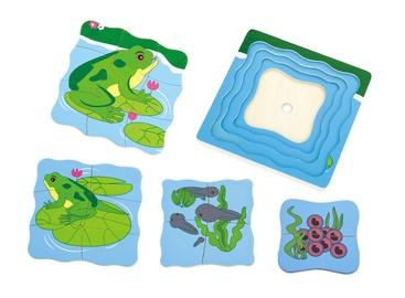 Viga Grow Up Puzzle Frog 59516