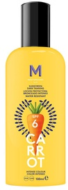 Mediterraneo Sun Carrot Sunscreen Dark Tanning Lotion SPF6 100ml
