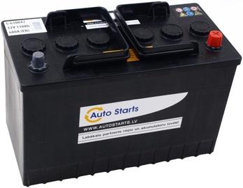 Аккумулятор Auto Starts Right, 12 В, 110 Ач, 680 а