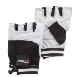 VirosPro Sports Gym Gloves White/Black L SG-1164A