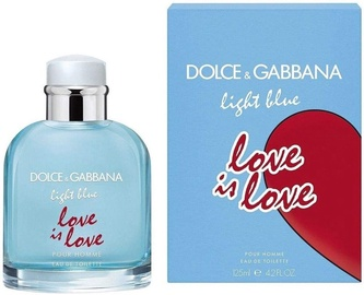 Tualetes ūdens Dolce & Gabbana Light Blue Love Is Love 125ml EDT