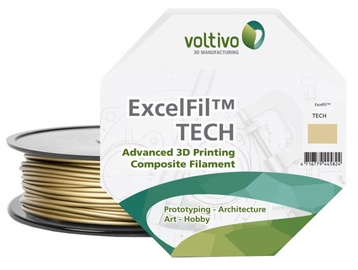 Voltivo PLA+Metal Filament Cartridge 1.75mm Bronze