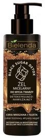 Makiažo valiklis Bielenda Black Sugar Detox Micellar Cleansing Gel, 200 ml