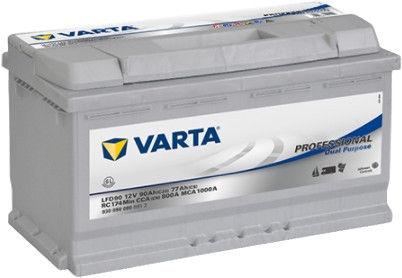 Аккумулятор Varta Professional DC LFD90, 12 В, 90 Ач, 800 а