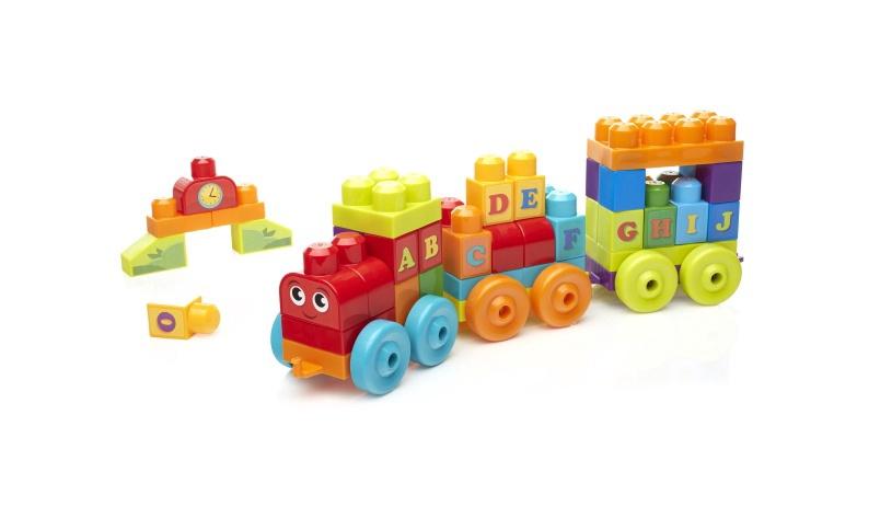 Žaislinis traukinys 60d. Mega bloks DXH35