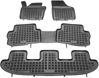 Gumijas automašīnas paklājs REZAW-PLAST Seat Alhambra 7 Seats 2010, 4 gab.