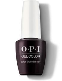 Nagu laka OPI Gel Color Black Cherry Chutn, 7 ml