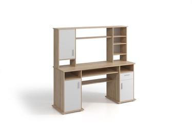 WIPMEB Vigo Desk Sonoma Oak/White Matt
