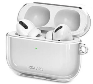 Usams US-BH570 Ultra-Thin Protective Cover For Apple Airpods Pro Transparent