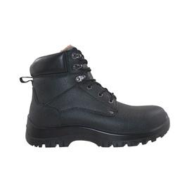 Vyriški natūralios odos batai, juodi, 45 dydis