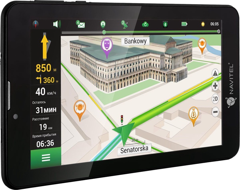Navitel T700 3G Pro with 47 Europe Maps