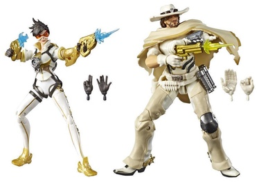 Žaislinė figūrėlė Hasbro Overwatch Ultimates Series Posh And White Hat Skin Dual Pack E6771ES0