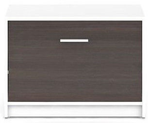 Apavu plaukts Black Red White Nepo Plus White/Wenge, 700x340x500 mm