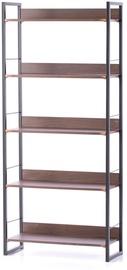 Homede Grux Shelf 70x30x159 Espresso