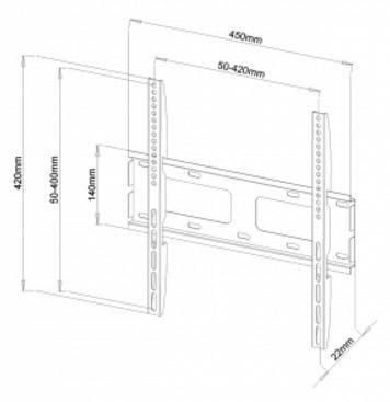 """Televizoriaus laikiklis ART Holdes For LCD TV / LED 23 - 55"""""""