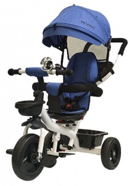 Tesoro BT-13 Baby Tricycle White Blue
