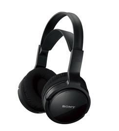 Ausinės Sony MDRRF811RK.EU8 Black, belaidės