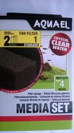 Aquael Filter Foam Sponge Fan 1 Plus 2pcs