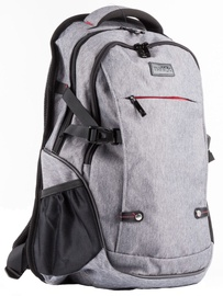 Natec Notebook Backpack ALPACA, 15,6'' Grey