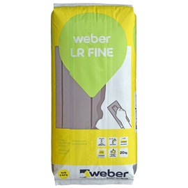 Viimistluspahtel Weber LR Fine 20kg