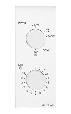 Mikrolaineahi Panasonic NN-E201WMEPG White