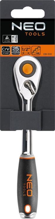 NEO 08-510 1/2'' Ratchet Handle 245mm