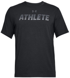 Under Armour T-Shirt Athlete 1305661-001 Black XXL