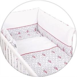 Ceba Baby Bedding Set 3pcs Panda Red
