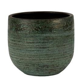 Keraamiline pott NDT Serena 1-01A, roheline, 14 x 13 cm