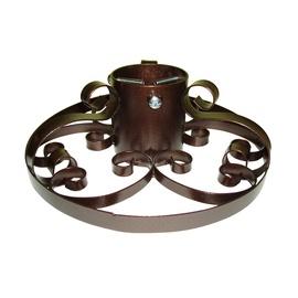 Eglės stovas Ring Black, 10 cm