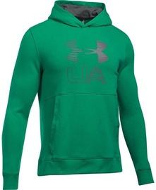 Under Armour Hoodie Threadborne Graphic 1299143-933 Green XL