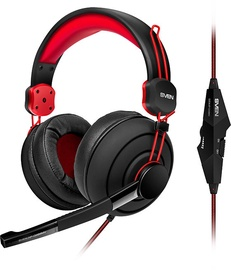 Ausinės Sven AP-G888MV Gaming Headphones Black/Red