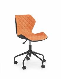 Vaikiška rašomojo stalo kėdė Matrix, juoda - oranžinė