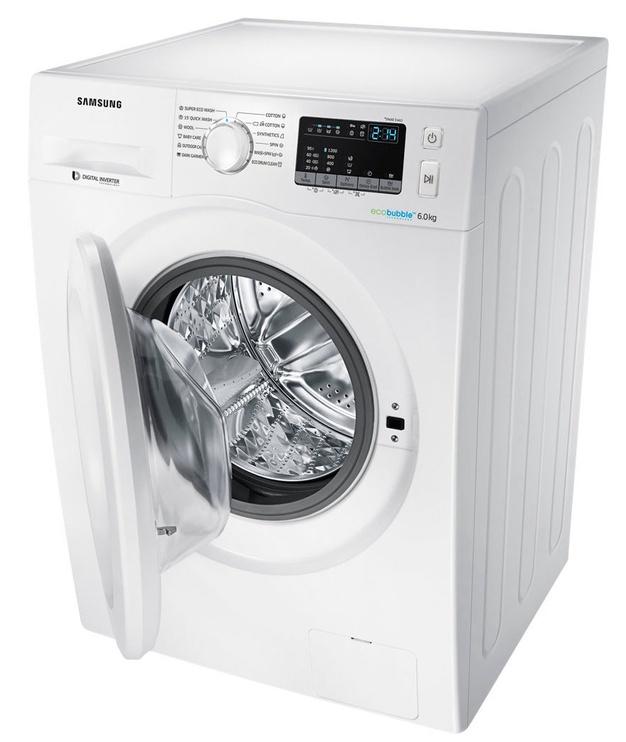 Skalbimo mašina Samsung WW60J4210LW1LE