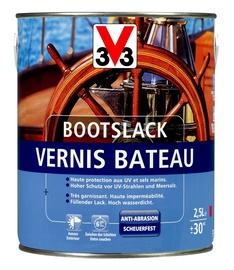 Lakas jachtoms V33, gintaro spalvos, blizgus, 0.75 l