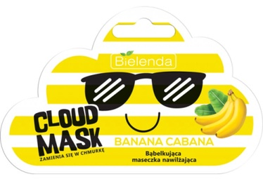 Bielenda Cloud Mask Illuminating Bubble Mask Banana Cabana 6g