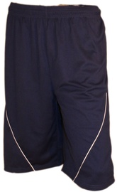 Bars Mens Football Shorts Dark Blue 188 L