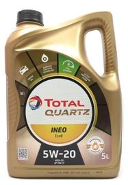 Mootoriõli Total Quartz Ineo EcoB 5W - 20, sünteetiline, sõiduautole, 5 l