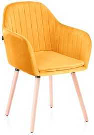 Homede Lacelle Chairs 2pcs Mustard