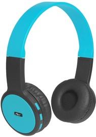 Ausinės ART AP-B05 Bluetooth Headphones w/Mic Black/Blue